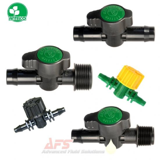 Straight Valve Hose Joiners (PP) Polypropylene Plastic Fittings Green Back